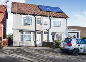 Thumbnail 3 bed semi-detached house for sale in Common Road, Huthwaite, Nottinghamshire, Notts