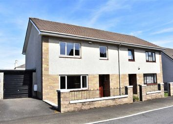 Thumbnail 3 bed semi-detached house for sale in 18, Finnart Road, Greenock, Renfrewshire