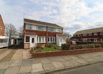 Thumbnail Semi-detached house for sale in Kingfisher Way, Blyth