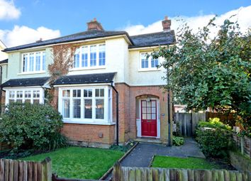 Thumbnail 3 bed semi-detached house for sale in Church Walk, Thames Ditton