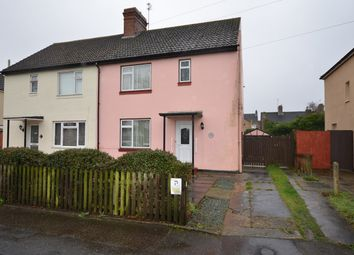 Thumbnail 3 bed semi-detached house for sale in Haddon Road, West Town, Peterborough