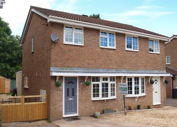Thumbnail 2 bed semi-detached house for sale in Roman Way, Honiton