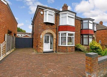Thumbnail 3 bed semi-detached house for sale in Highfield, Sutton, Hull