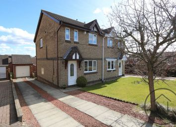 Thumbnail 3 bedroom semi-detached house for sale in Newburn Court, Newton Aycliffe