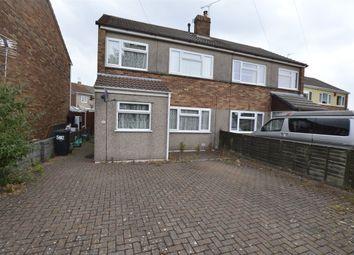 Stanshawe Crescent, Yate, Bristol BS37. 3 bed semi-detached house