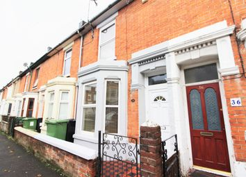 Thumbnail 2 bed terraced house to rent in Dunbar Road, Southsea
