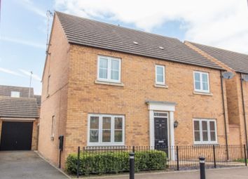 Thumbnail 4 bed detached house for sale in Oulton Road, Rugby