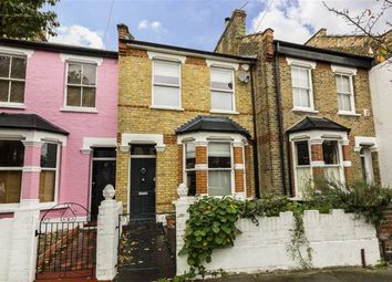 Thumbnail 3 bed terraced house to rent in Brecon Road, London