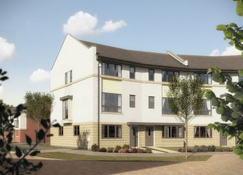 "Thumbnail 4 bed end terrace house for sale in ""The Swift"" at Pomphlett Farm Industrial, Broxton Drive, Plymouth"