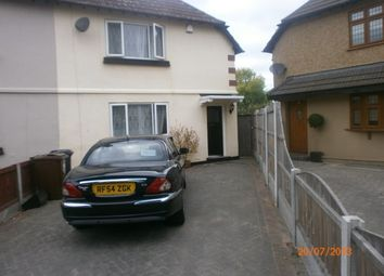 Thumbnail 3 bed terraced house to rent in West Road, Chadwell Heath, Romford