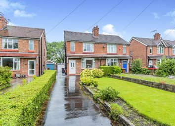 Thumbnail 3 bed semi-detached house for sale in Macclesfield Road, Holmes Chapel, Crewe