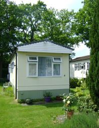 Thumbnail 1 bed mobile/park home for sale in St. Brelades Court, Crouch House Road, Edenbridge
