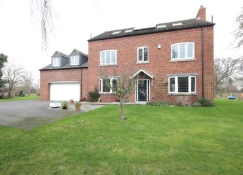Thumbnail 5 bed detached house for sale in Hay Green, Fishlake, Doncaster