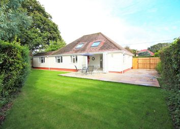 Thumbnail 4 bed detached bungalow for sale in Barton Court Avenue, Barton On Sea, New Milton