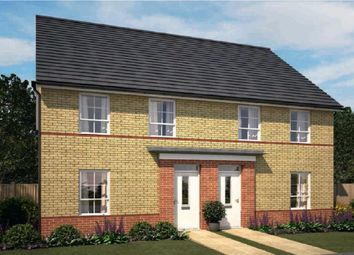 """Thumbnail 3 bedroom semi-detached house for sale in """"Finchley"""" at Fen Street, Brooklands, Milton Keynes"""