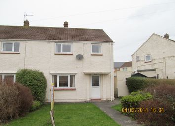 Thumbnail 3 bedroom semi-detached house to rent in Delapoer Drive, Haverfordwest