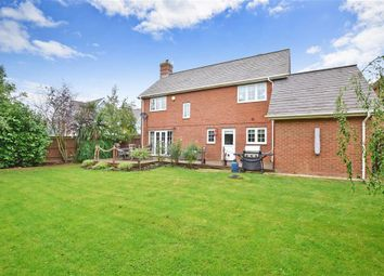 Thumbnail 4 bed detached house for sale in Pike Close, Larkfield, Aylesford, Kent