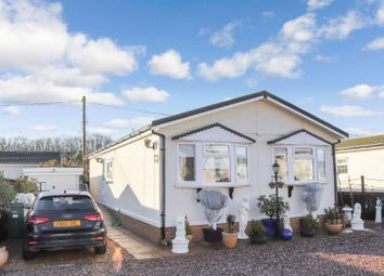 Thumbnail 2 bed mobile/park home for sale in Castlewood Mobile Home Park, Hinckley Road, Sapcote, Leicester