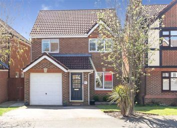 Thumbnail 3 bed detached house for sale in Lucilla Avenue, Ashford, Kent