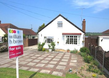 Thumbnail 3 bed detached bungalow for sale in Hillside, Orwell, Royston
