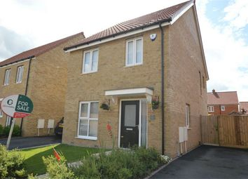 Thumbnail 3 bed detached house for sale in Barbastelle Crescent, Hethersett, Norwich