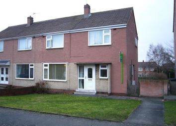 Thumbnail 3 bed semi-detached house for sale in Hawthorn Close, Kimblesworth, Chester Le Street