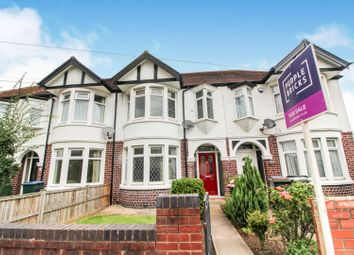 Thumbnail 3 bed terraced house for sale in Brookside Avenue, Coventry