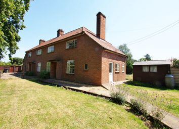 Thumbnail 3 bed semi-detached house to rent in Tanning Lane, New Buckenham, Norwich