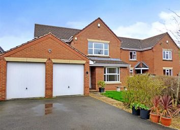 Thumbnail 4 bed detached house for sale in Redrock Crescent, Kidsgrove, Stoke-On-Trent