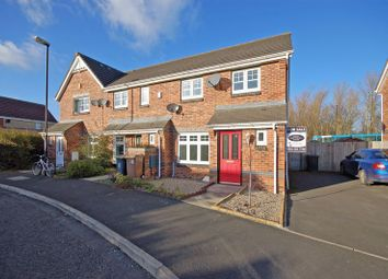 Thumbnail 3 bed semi-detached house for sale in Bevan Drive, Longbenton, Newcastle Upon Tyne