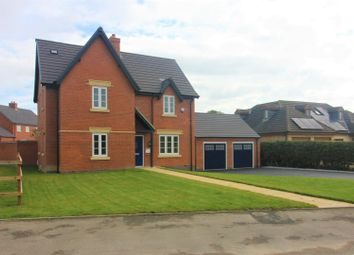 Thumbnail 4 bedroom detached house for sale in Measham Road, Moira, Swadlincote