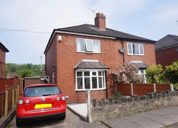 Thumbnail 2 bed semi-detached house for sale in Stanway Avenue, Sneyd Green, Stoke-On-Trent