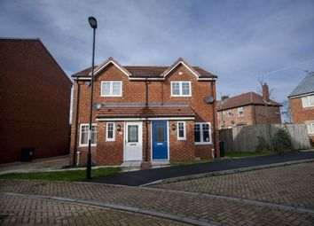 Thumbnail 2 bedroom semi-detached house for sale in Alnmouth Court, Cowgate, Newcastle Upon Tyne