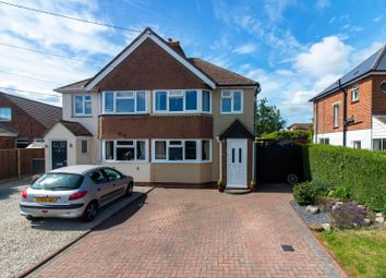 Thumbnail 3 bed semi-detached house for sale in Alexandra Road, Capel-Le-Ferne, Folkestone