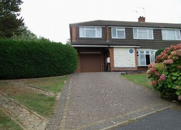 Thumbnail 3 bed semi-detached house for sale in St Augustin Way, Daventry, Northants