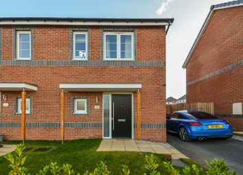 Thumbnail 2 bed semi-detached house for sale in 15 Garrison View, Pontefract