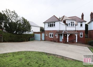 Thumbnail 4 bed detached house for sale in Seabrook Road, Hythe, Kent