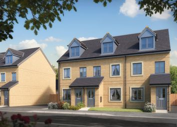 "Thumbnail 3 bed semi-detached house for sale in ""The Souter "" at Burwell Road, Exning, Newmarket"