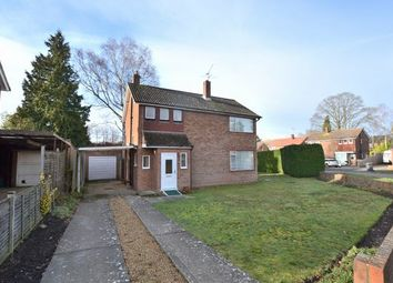 Thumbnail 3 bed detached house for sale in Carlton Crescent, Church Crookham, Fleet