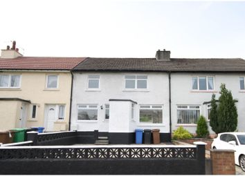 Thumbnail 3 bed terraced house for sale in Cardross Road, Dumbarton