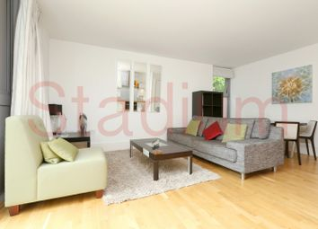 Thumbnail 1 bed flat to rent in Southstand Apartments, Highbury Stadium Square, London