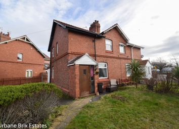 Thumbnail 2 bedroom semi-detached house for sale in Borras Road, Wrexham