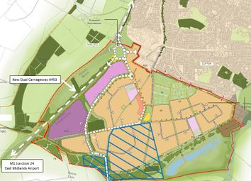 Thumbnail Land for sale in Farnborough Road, Nottingham