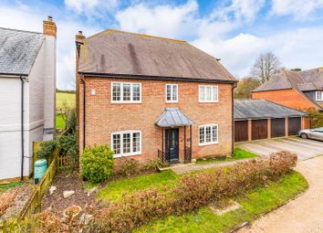 Thumbnail 4 bed detached house for sale in Camp Field, Kings Somborne, Stockbridge
