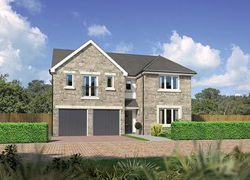 "Thumbnail 5 bed detached house for sale in ""Kingsmoor"" at East Calder, Livingston"
