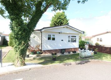 Thumbnail 2 bed mobile/park home for sale in Woodland Park, Briar Bank Park, Wilstead, Bedford