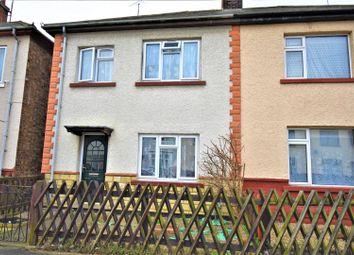 Thumbnail 3 bedroom semi-detached house for sale in Belham Road, Peterborough