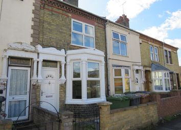 Thumbnail 2 bed terraced house for sale in Queens Walk, Fletton, Peterborough