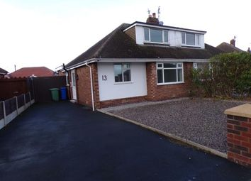 Thumbnail 3 bed semi-detached house for sale in Hexham Avenue, Thornton-Cleveleys, Lancashire