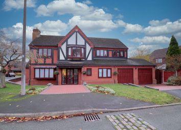 Terrington Drive, Clayton, Newcastle-Under-Lyme ST5. 5 bed detached house for sale